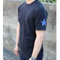 Drawing (ドローイング) ORIGINAL SHOULDER STAR TEE BLACK/ オリジナル ショルダー スター Tシャツ ブラック