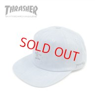 【PRICE DOWN】 30%OFF THRASHER(スラッシャー) × MARK GONZALES GONZ LOGOデニム平ツバCAP(SAX)