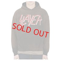 【PRICE DOWN】 30%OFF MADE WORN (メイドウォーン)Slayer Cotton-Blend Hoodie  / スレイヤー ヴィンテージ パーカー