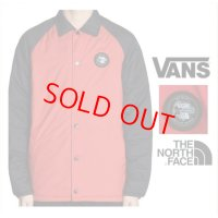 【PRICE DOWN】 25%OFF VANS × THE NORTH FACE TORREY MTE JACKET RED / ヴァンズ バンズ コラボ  ザ・ノースフェイス コーチジャケット ブルゾン