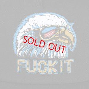 画像2: HUF(ハフ) Fuck It Eagle Trucker Cap BLACK /メッシュ  キャップ ブラック イーグル 帽子