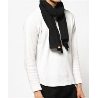【PRICE DOWN 70%OFF】 esperanto (エスペラント) WOOL STOLE BLACK/ ウール ストール