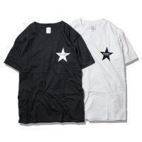 Drawing (ドローイング) ORIGINAL STAR TEE WHITE&BLACK SET/ オリジナル スター  Tシャツ ホワイト ブラック 2枚セット