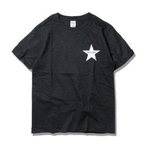 画像1:  Drawing (ドローイング) ORIGINAL STAR TEE BLACK/ オリジナル スター Tシャツ ブラック