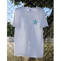 【LIMITED COLOR】Drawing (ドローイング) ORIGINAL STAR TEE WHITE×TIFFANY BLUE/ オリジナル スター Tシャツ ホワイト ティファニー ブルー