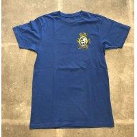日本未入荷 RIPCITY SKATES ORIGINAL TEE  BLUE/リップシティ スケート オリジナル Tシャツ ブルー