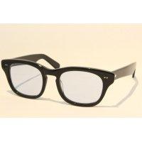 SHURON (シュロン) SIDEWINDER BLACK-BLUELENS SIZE50 / サイドワインダー ウェリントン メガネ サングラス ブラック ブルーレンズ