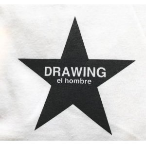 画像2: Drawing (ドローイング) ORIGINAL STAR L/S TEE WHITE/ オリジナル スター ロングスリーブ Tシャツ ロンT ホワイト