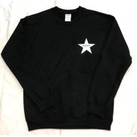 Drawing (ドローイング) ORIGINAL STAR  C/N SWEAT BLACK / オリジナル スター スウェット ブラック