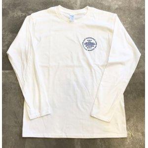 画像2: Drawing (ドローイング) ORIGINAL CIRCLE LOGO L/S TEE WHITE/ オリジナル サークルロゴ ロングスリーブ Tシャツ ロンT ホワイト