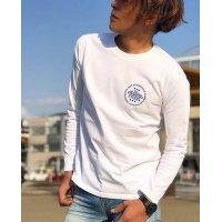 Drawing (ドローイング) ORIGINAL CIRCLE LOGO L/S TEE WHITE/ オリジナル サークルロゴ ロングスリーブ Tシャツ ロンT ホワイト