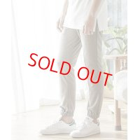 【PRICE DOWN 30%OFF】 ANGENEHM(アンゲネーム) ANG3819-Ponti Jogger Ankle Pants BROWN/ジョガー アンクル パンツ ブラウン