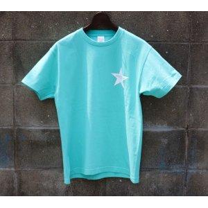 画像2: Drawing (ドローイング) ORIGINAL STAR TEE TIFFANY BLUE/ オリジナル スター Tシャツ  ティファニー ブルー