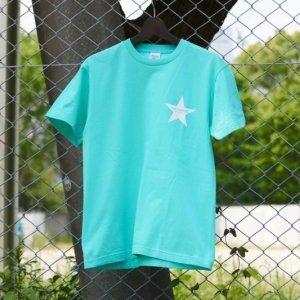 画像1: Drawing (ドローイング) ORIGINAL STAR TEE TIFFANY BLUE/ オリジナル スター Tシャツ  ティファニー ブルー