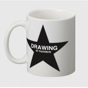 画像1: Drawing(ドローイング)original STAR MUG WHITE/オリジナル スター マグカップ コーヒーマグ  ホワイト