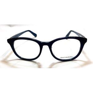 画像1: marimekko (マリメッコ) 32-0004 ウェリントン メガネ BLUE/ ブルー 眼鏡