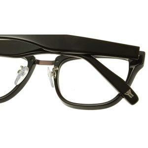 画像4:  yohji yamamoto (ヨウジヤマモト) 19-0001 ウェリントン メガネ BROWN/ ブラウン 眼鏡