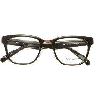 画像2:  yohji yamamoto (ヨウジヤマモト) 19-0001 ウェリントン メガネ BROWN/ ブラウン 眼鏡