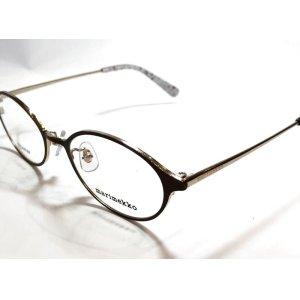 画像2: marimekko (マリメッコ) 32-0033 メタル オーバル メガネ BROWN/ブラウン 眼鏡