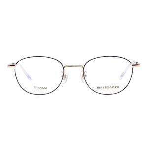 画像1: marimekko (マリメッコ) 32-0029-04 メタルウェリントンメガネ PURPLE/ パープル  眼鏡
