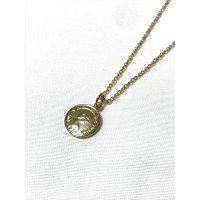 COIN NECKLACE GOLD/ コイン ネックレス ゴールド