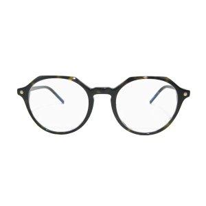 画像2: VIKTOR&ROLF (ヴィクター&ロルフ) 70-0197-1 オクタゴン メガネ BROWN TORTOISE/ べっこう柄 眼鏡