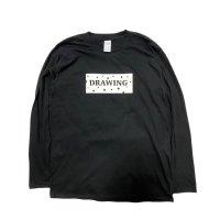 Drawing (ドローイング) ORIGINAL STAR BOXLOGO L/S TEE BLACK/ オリジナル スター ボックスロゴ ロンT Tシャツ ブラック