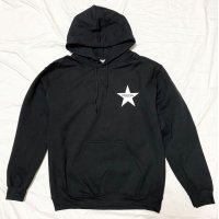 Drawing (ドローイング) ORIGINAL STAR  SWEAT PARKA BLACK/ スター スウェット プルパーカー ブラック