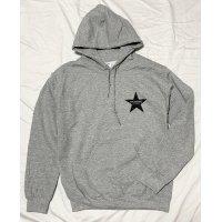 Drawing (ドローイング) ORIGINAL STAR  SWEAT PARKA GREY/ スター スウェット プルパーカー グレー