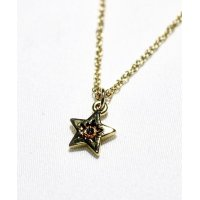 STAR STONE NECKLACE GOLD/ スター ストーン ネックレス ゴールド