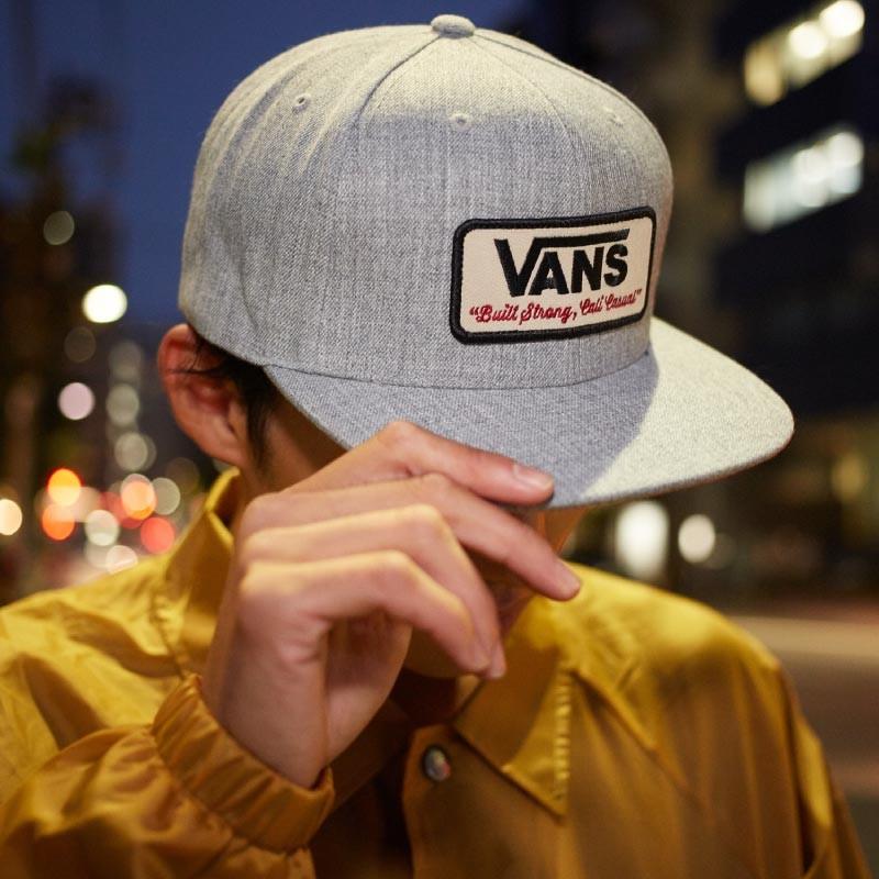 日本未入荷 VANS Rowley Snapback Hat Heather Grey  ヴァンズ バンズ キャップ スナップバック ヘザーグレー 10e105088817